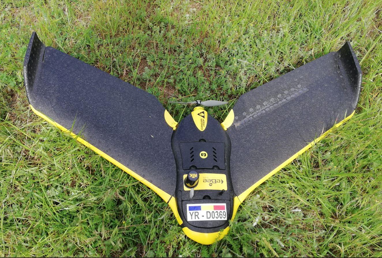 Dronă în dotarea Theotop