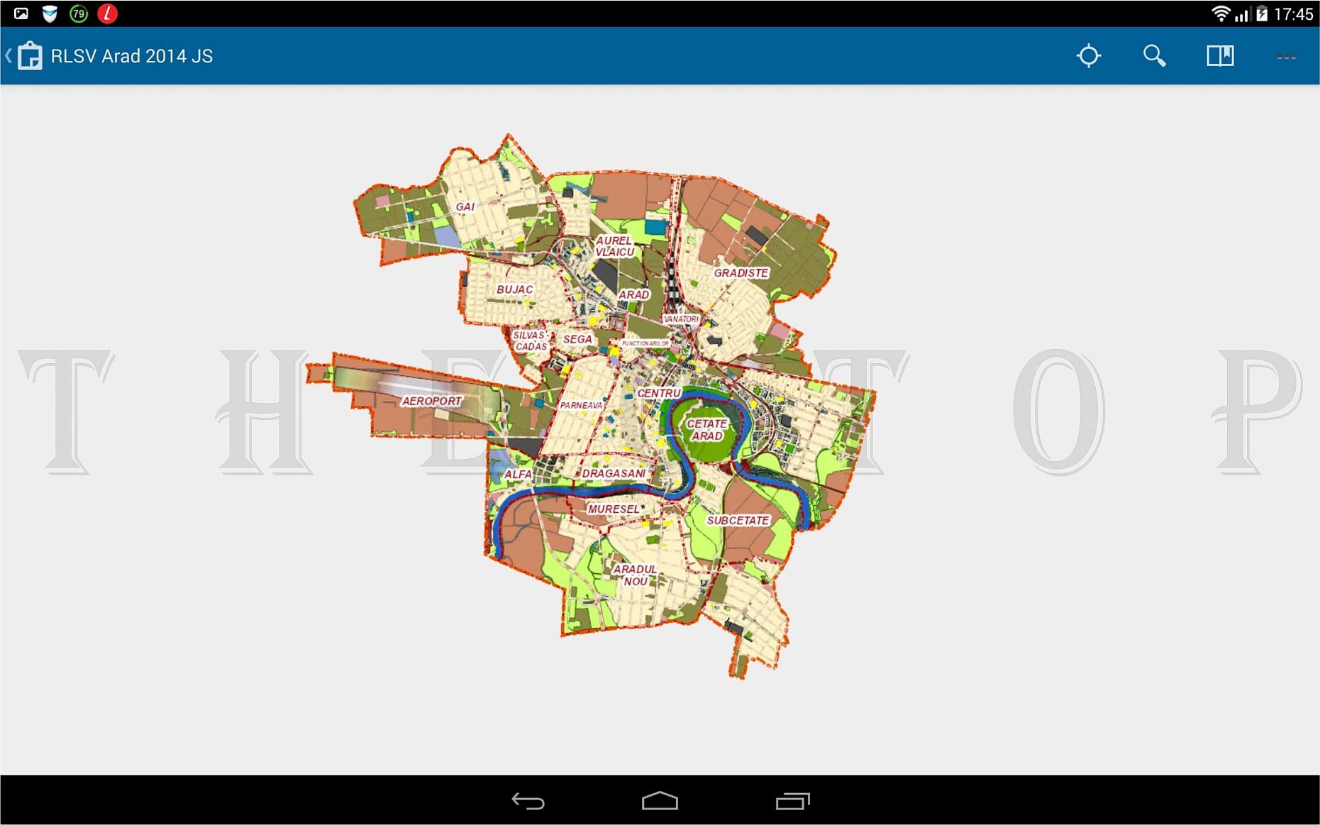 RLSV Arad -tabletă