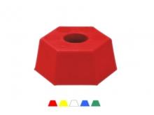 Bornă Plastic Hexagonală -115x50mm [galben]