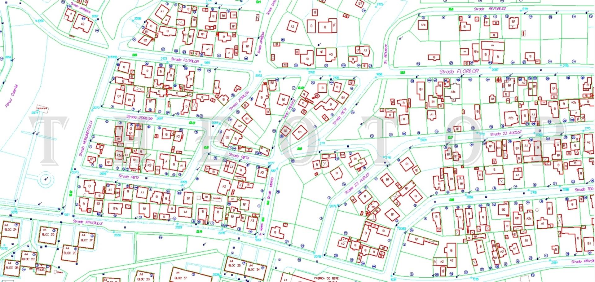 Plan imobiliar și edilitar