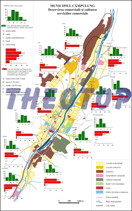 Hartă servicii: Municipiul Câmpulung