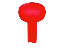 Bușon de Plastic Rotund -50mm [roșu]