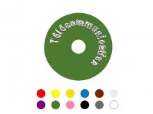 Disc Identificare -40mm [portocaliu]