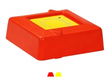 Bornă Polyroc Minibloc -150x150x50mm [roșu]