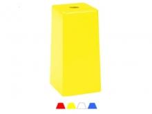 Bornă Polyroc H300 -140x140x300mm [galben]