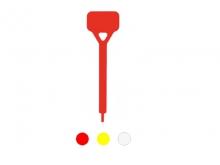 Reper Rectangular de Lotizare Mare pentru Borne FENO  [roșu]