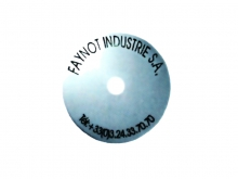 Disc de Identificare -70mm [natural]
