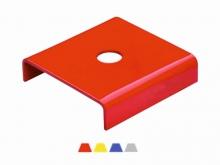 2 -- Bornă Metalică -170x170x30mm [roșu]