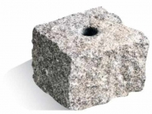Granite Polyroc Head -100x100x85mm