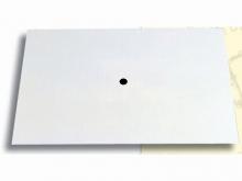 Reper Fotogrametric cu Punct de Centrare -300x300mm [alb]