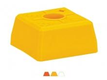 Bornă Plastic VISIOCLIP -95x95x52mm [roșu] {OGE}