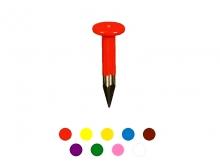 Pichet Metalic Striat -10x30mm [roșu nou]