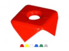 Bornă Pătrată -110x110x45mm [roșu]