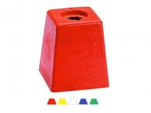 1 -- Bornă Polyroc Extra Large -120x120x140mm [galben]