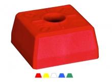 Bornă Plastic Pătrată -95x95x52mm [galben] {OGE}