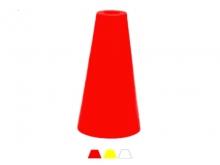 Bornă Polyroc Conică -140x250mm [roșu]