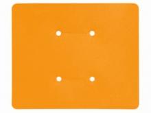 Etichetă din Plastic pentru Tijă -110x89mm  [portocaliu]