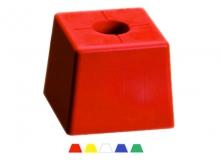 Bornă Polyroc Mare -105x105x85mm [roșu]