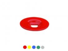 Bornă Plată -90mm [roșu]