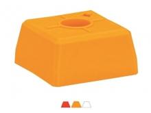 Bornă Plastic VISIOCLIP -95x95x52mm [roșu]