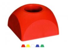 Bornă Polyroc Semisferică DOME -80x45mm [roșu]