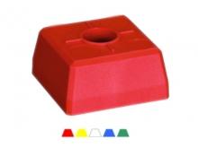 Bornă Plastic Pătrată -95x95x52mm [galben]