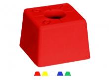 Bornă Polyroc Standard -90x90x65mm [roșu] {OGE}