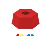 Hexagonal Plastic Head -115x50mm [yellow]