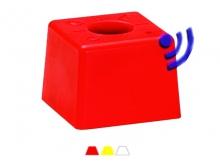 Bornă Polyroc Inteligentă -90x90x65mm [roșu]{OGE}